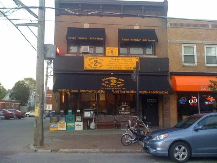 7. Hamburg Inn No. 2, Iowa City