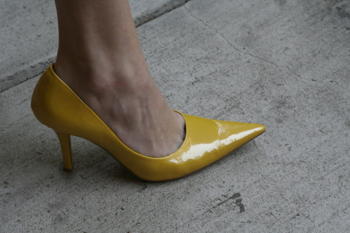4. Women may not wear high heels while in the city limits.