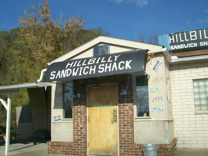 4. Hillbilly Sandwich Shack, Parkersburg