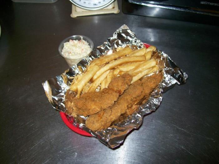 hillbilly sandwich shack food
