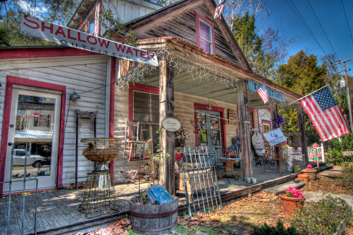 "9. This charming town has quite a few historical homes and buildings, including ""The Store,"" built in 1906."