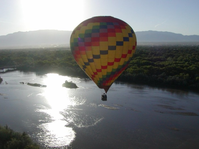 11. Hot air ballooning in Albuquerque