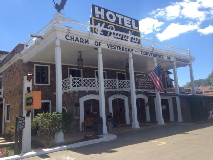 3. El Rancho Hotel, 1000 E Hwy 66, Gallup