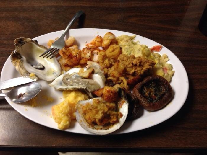 Day 3: Late Lunch- House of Seafood Buffet, 81790 LA-21, Bush, LA