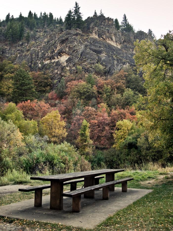 10. Blacksmith Fork Canyon, Hyrum