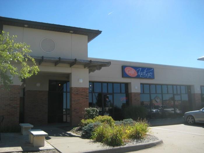 8. Cafe Indigo, Davenport