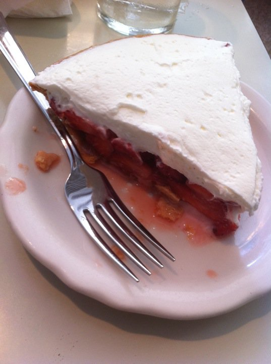 7. Strawberry Pie at Jim's Spaghetti