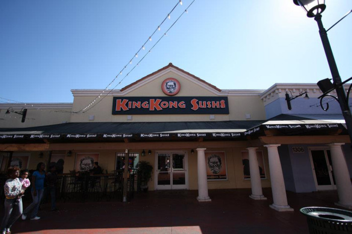 5. King Kong Sushi at Broadway at the Beach - Myrtle Beach