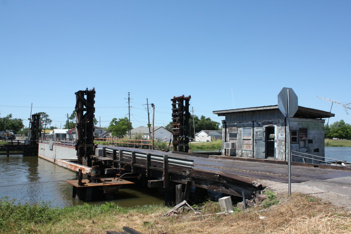 5. Larose Pontoon Bridge