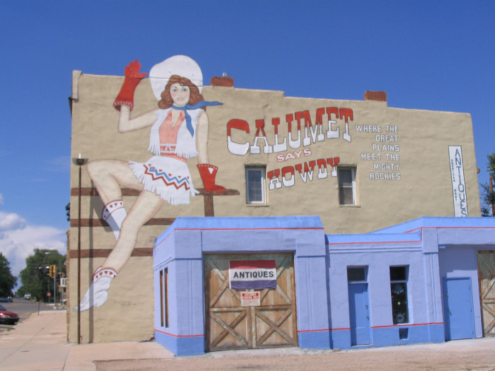 "17. The final mural on this list was painted in Las Vegas in 1984, for the movie ""Red Dawn."""