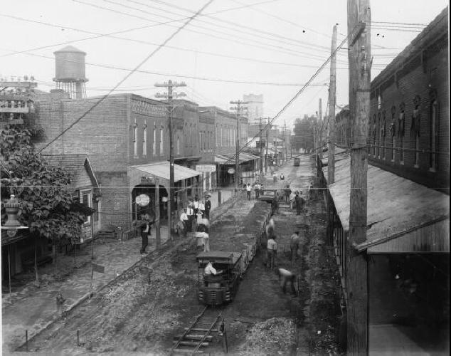 4. Market Street in Laurel