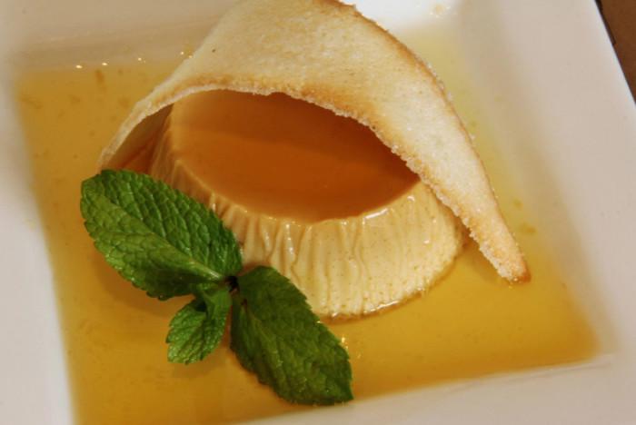 8. La Crème Caramel at Le Manhattan Bistro in Wilkes-Barre, PA