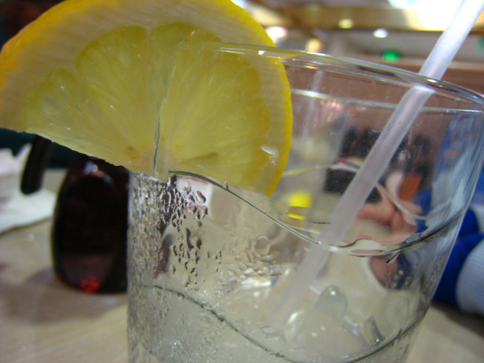 14. You really shouldn't order a lemon in your drink. Many places don't even wash them.