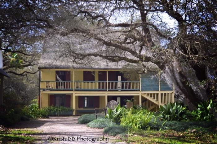 1. Longfellow-Evangeline State Historic Site, 1200 N. Main ST, St. Martinville, LA