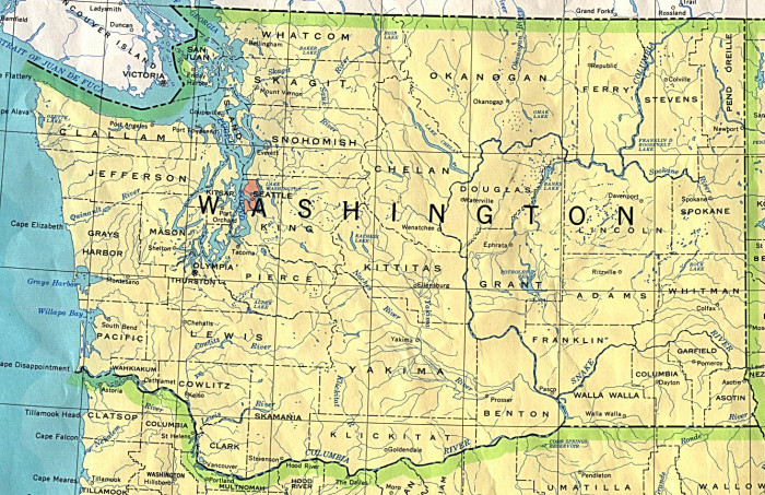 7. People from other states assuming you live in Seattle no matter what part of Washington you call home.