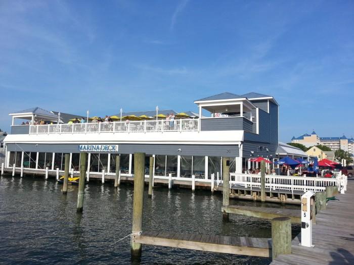 3. Marina Deck Seafood Restaurant, Ocean City