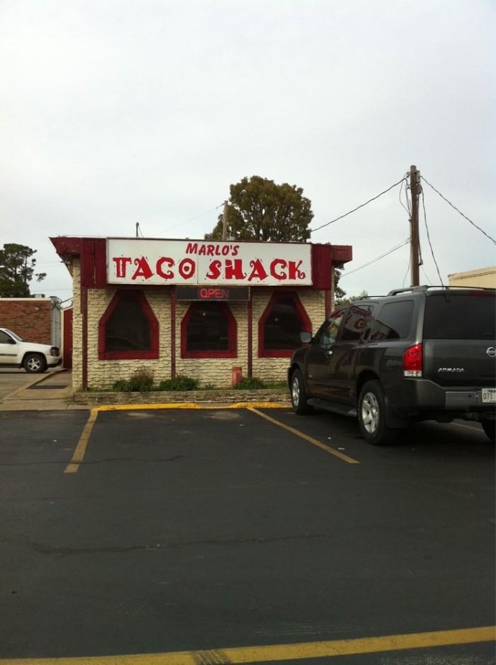 17. Marlo's Taco Shack