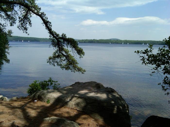9. Lake Massabesic