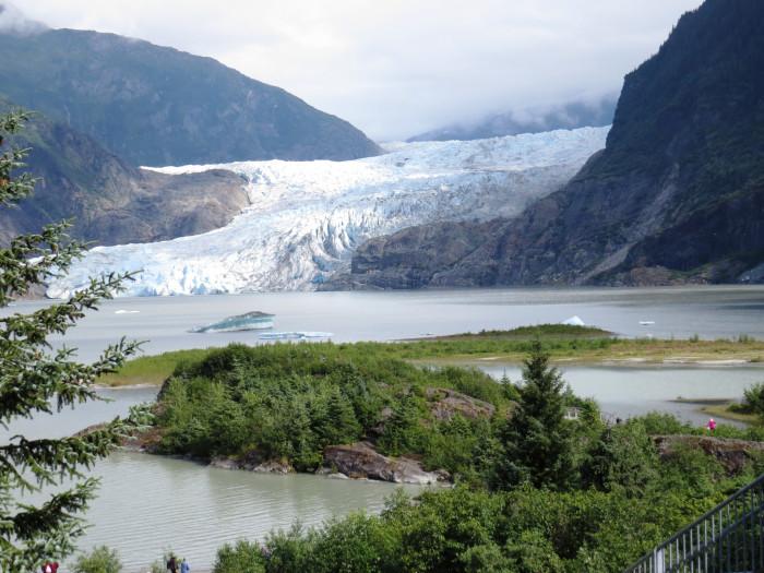10. Mendenhall Glacier
