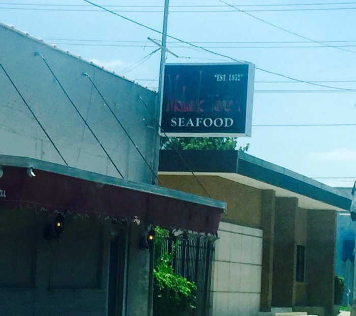 Day 2: Early lunch- Mohawk Seafood Tavern, 704 Louisville Ave., Monroe, LA