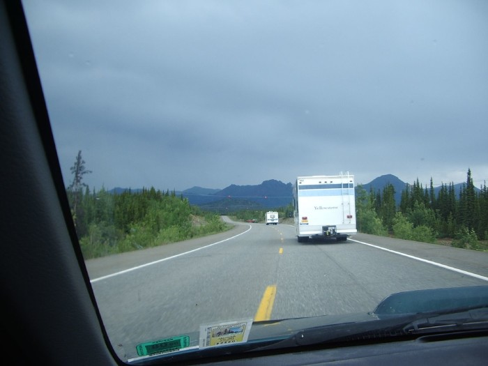 20. Alert: Motorhomes on roadway. They are coming for us.