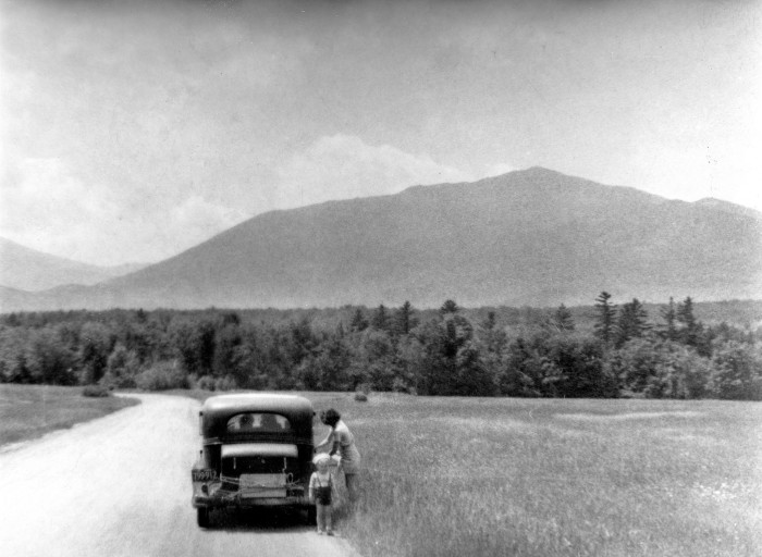 2. A mountain drive was the perfect way to escape news of the war.