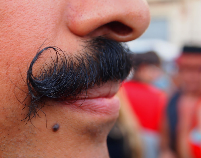 10. Men who wear moustaches are forbidden from kissing women.