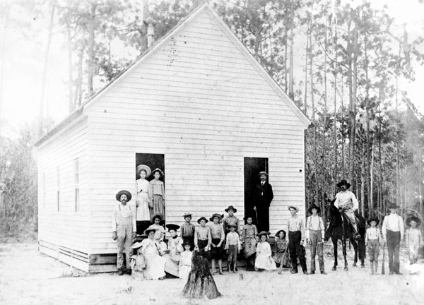 Jackson Bluff School students