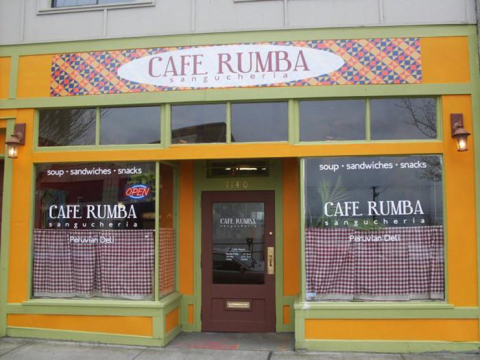 "7. A ""Peruana"" sandwich from Cafe Rumba, Bellingham"