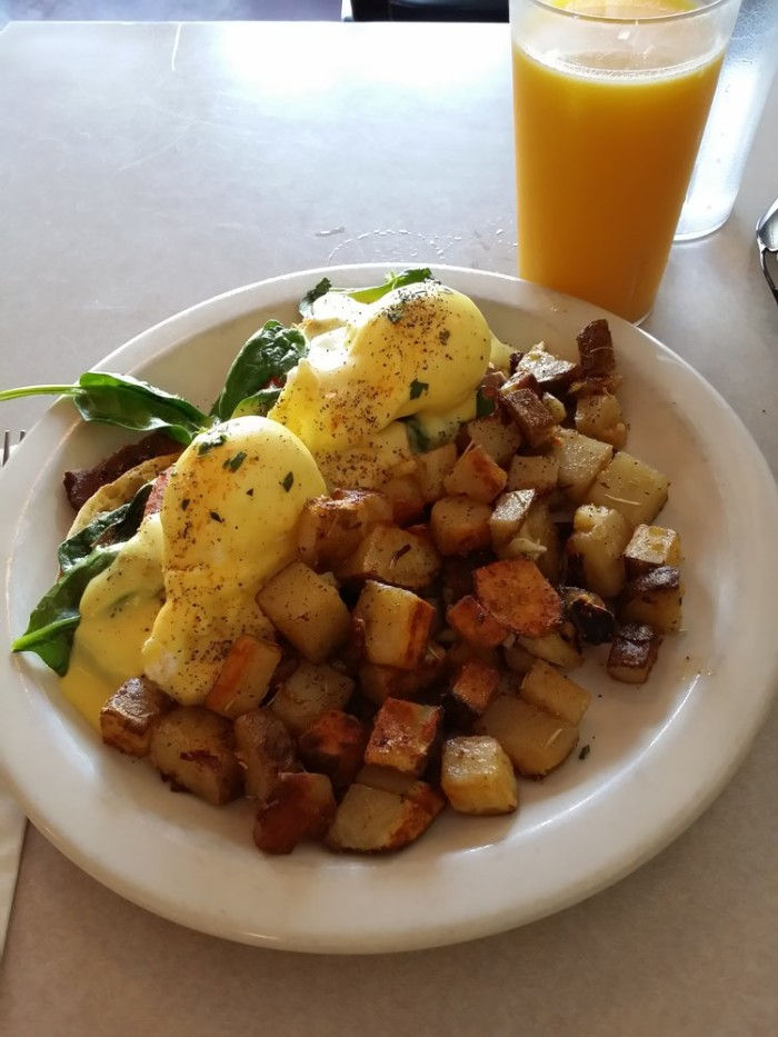 8. Northwest Benedict from New Moon Cafe, Olympia