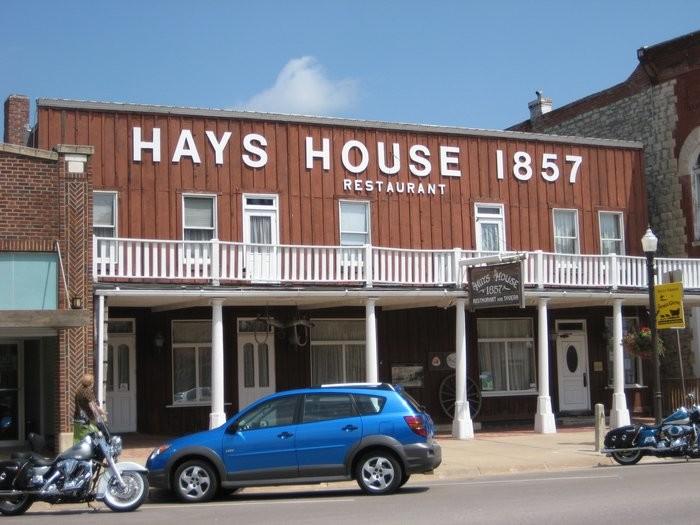 1. Hays House 1857 (Council Grove)