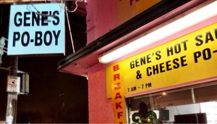 9. Gene's, 1040 Elysian Fields Ave.