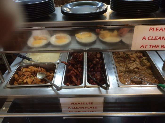 11) The Whole Breakfast Buffet at Lil Dizzy's Café