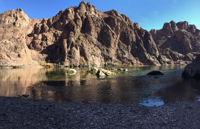 10. Goldstrike Canyon Hot Springs in the Lake Mead National Recreation Area, Nevada