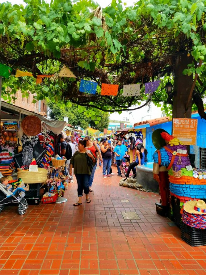 6. Historic Olvera Street -- Los Angeles