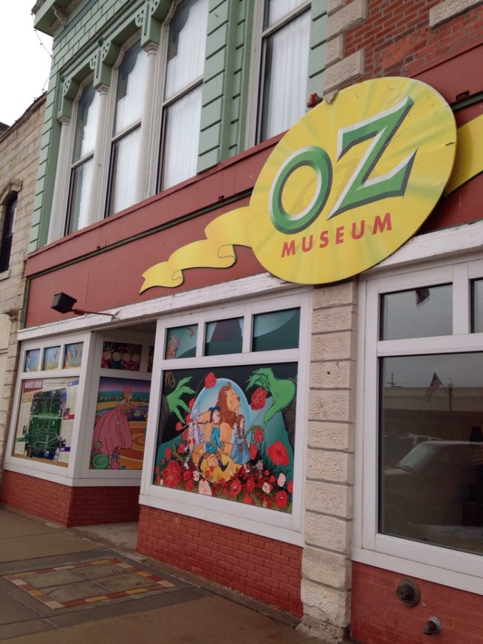 9. Now it's time to visit our home girl Dorothy and all her friends at both the Oz Museum...