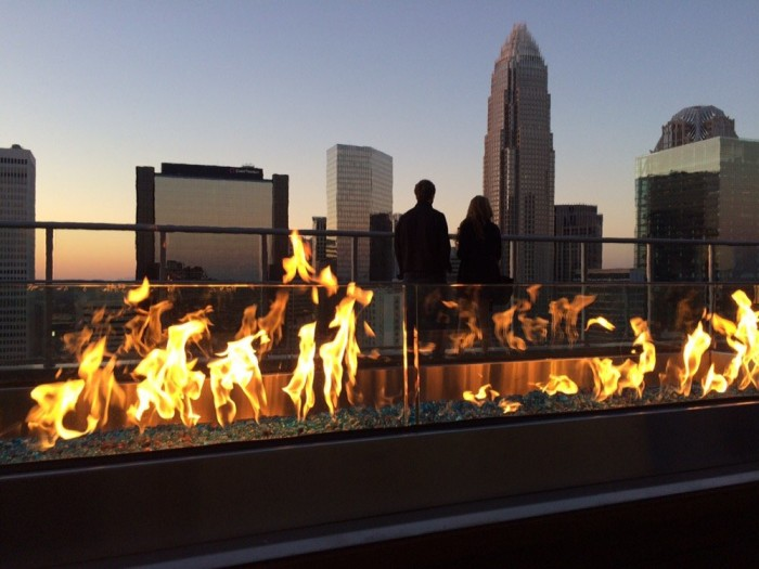 10 incredible rooftop restaurants in north carolina for Terrace restaurant charlotte