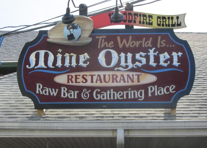 2. Mine Oyster, Boothbay Harbor