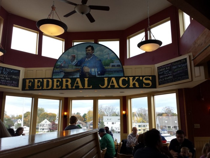 4. Federal Jack's Brew Pub / Kennebunk
