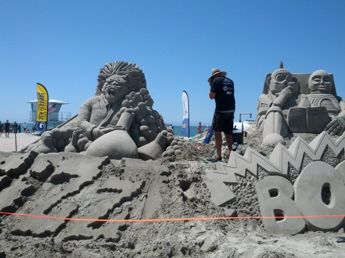 9. Great Sand Sculpture Contest in Long Beach