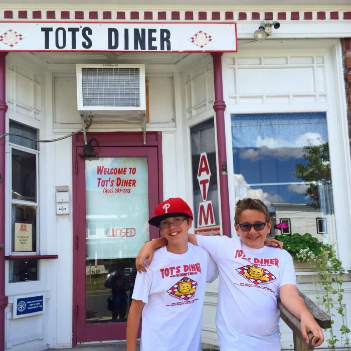 4.  Tot's Diner - 84 E Main Street, Poultney (Breakfast)
