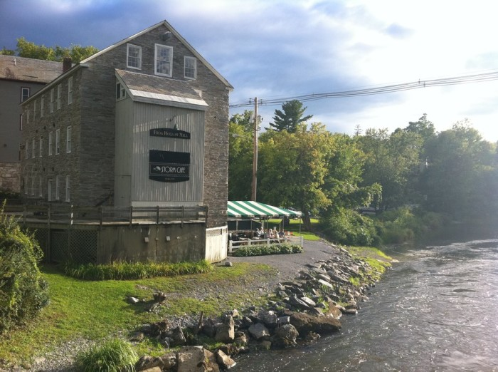 5.  Storm Cafe - 3 Mill Street, Middlebury (Lunch)