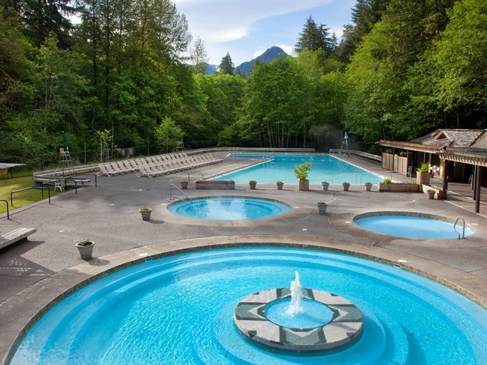 15. Sol Duc Hot Springs in Olympic National Park, Washington