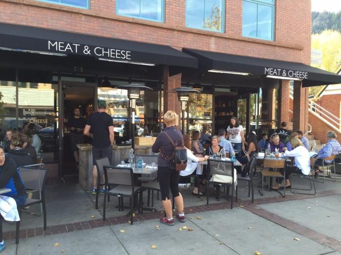 2. Meat & Cheese Restaurant and Farm Shop (Aspen)