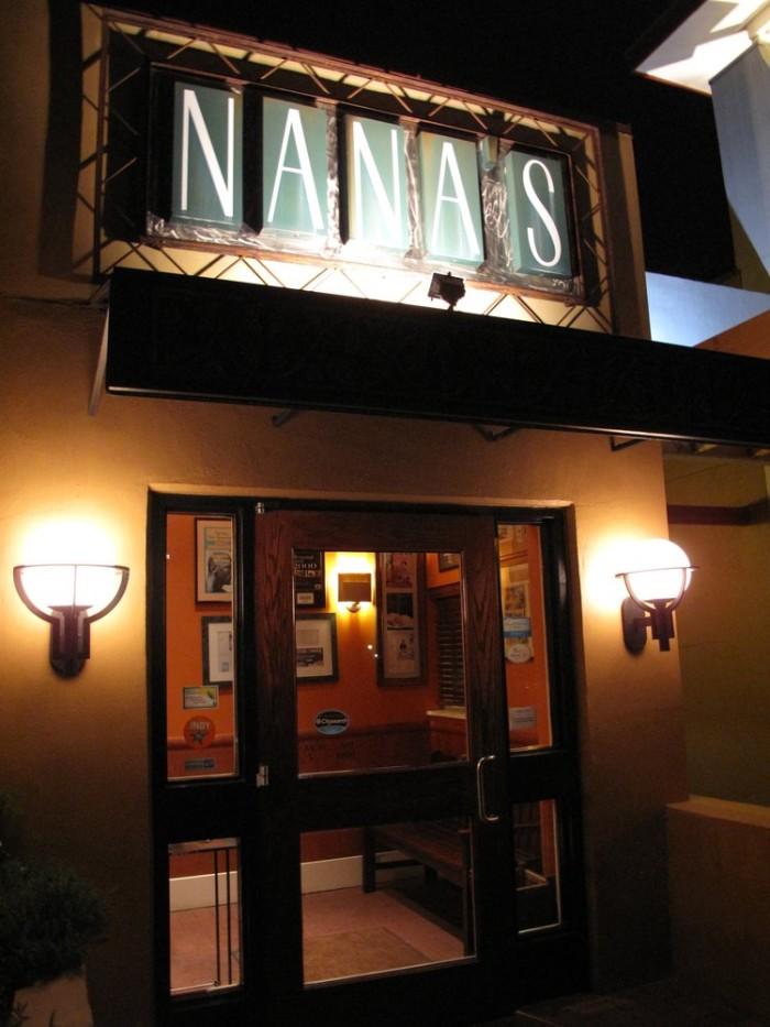 3. Nana's, Durham