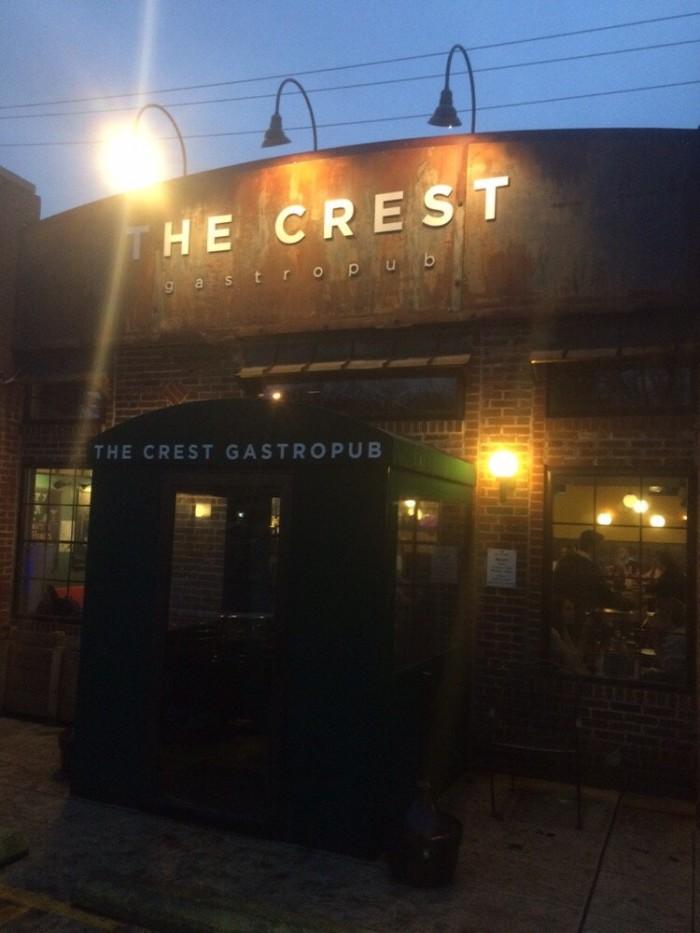 2. The Crest Gastropub (Columbus)