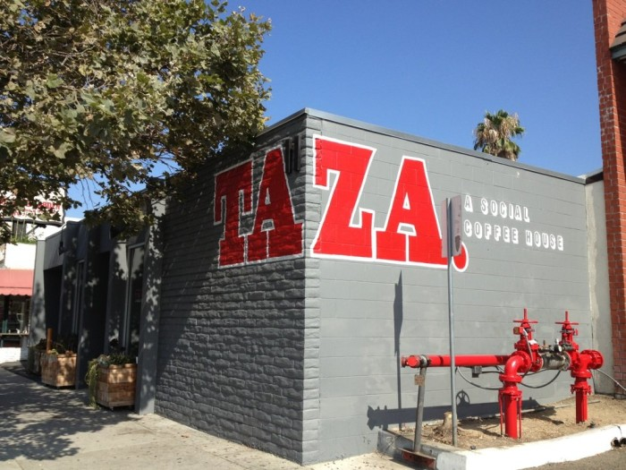 1. Taza - A Social Coffeehouse in Arcadia
