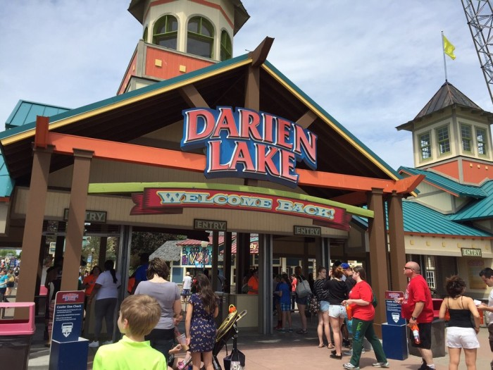 8. Raise your adrenaline and test your bravery by riding one of the many roller coasters and water park rides at Darien Lake!