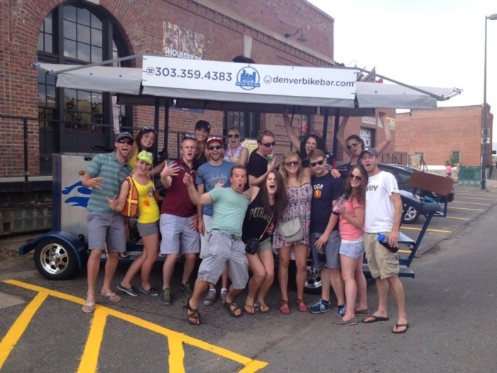 16.) Bike around LoDo (and drink!) with a few of your closest friends.
