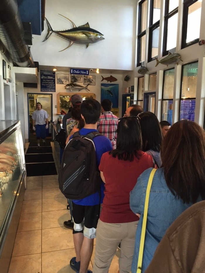 2. Blue Water Seafood Market and Grill in San Diego